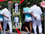 Berlusconi hot  con Francesca Pascale:  si 'emoziona', tra abbracci e palpatine