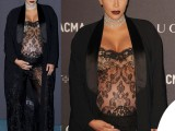 Kim-Kardashian-evento-LACMA-top-pantaloni-vestaglia-Givenchy-2
